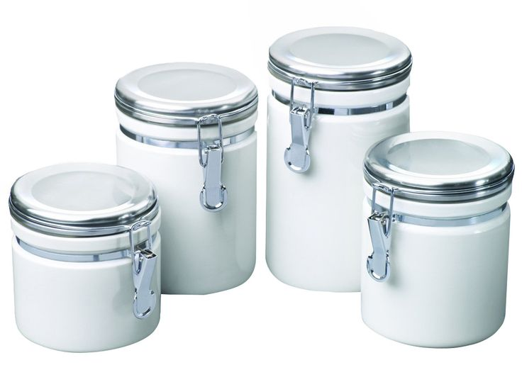 4-Piece Derek Canister Set