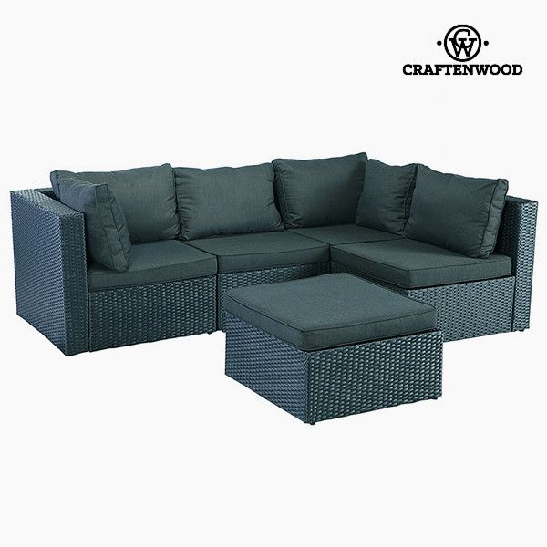 Sofa And Pouf Set 5 Pcs Rattan Dark Grey If You Want To Add A