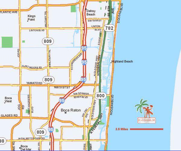 Boca Raton Florida Map Printable | enlarge it maps of boca raton maps of boca raton