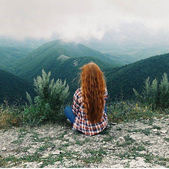 Профиль девушки с необыкновенно красивой природой и рыжими волосами  @forests_keeper by labulka