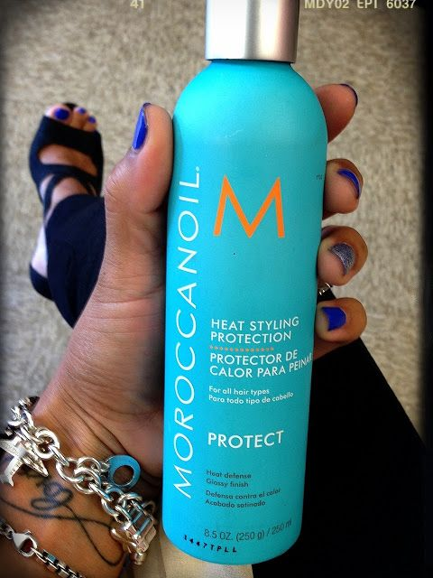 Steffany's Choice: Tried And Tested: Moroccanoil Heat Styling Protection/ Lo Compre Y loPuse A Prueba: Protector De Calor Para Peinar!