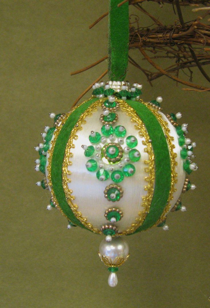 Vintage Handmade Christmas Ornaments Kitschy Heavy By Vivaestelle