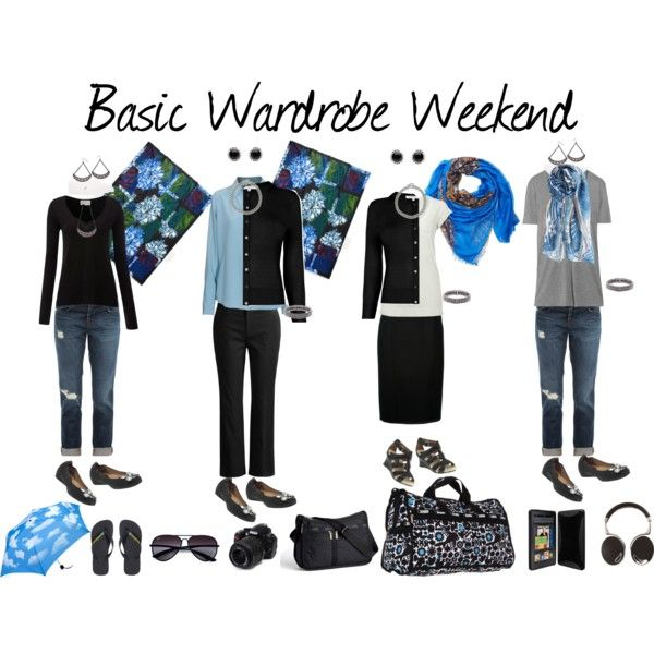 """Basic Wardrobe Weekend"" by susanmcu on Polyvore"