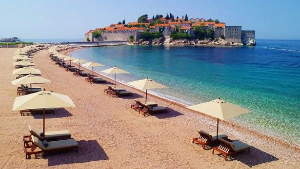 "Montenegro. ""A Balkan gem that's small, spectacular—and cheap,"" as The New York Times describes it, the coastal country offers breathtaking coastal views, boating, and history. Recently opened after a six-year renovation, the Aman Sveti Stefan resort is set on a three-acre island, with luxurious suites, spas, and dining in repurposed 15th-century cottages"