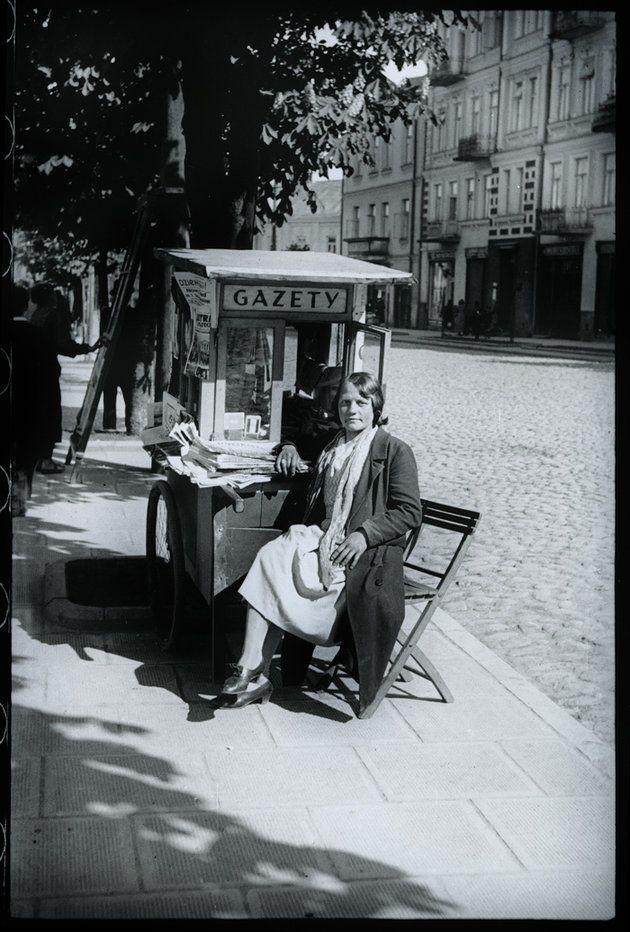 Białystok na zdjęciach Bolesława Augustisa