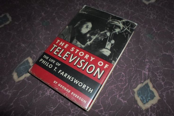 The Story of Television 1st Edition signed by Philo Farnsworth  *Worldwide*