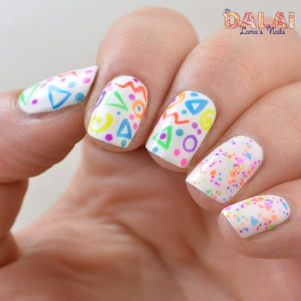 17 Best Ideas About 1980s Nails On Pinterest