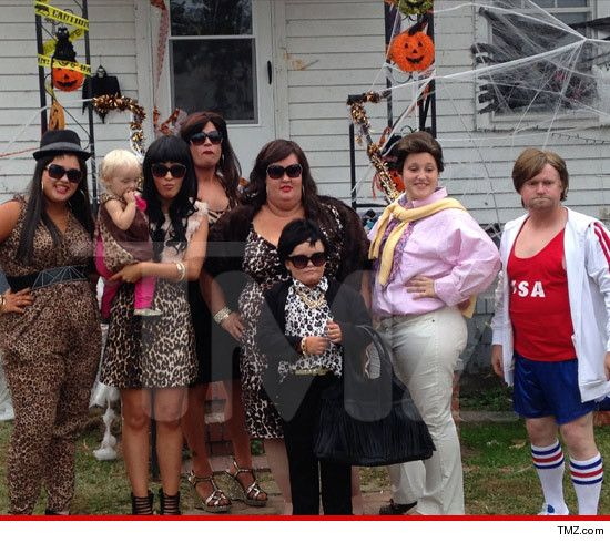 Honey Boo  Family as family as the Kardashians  Honey Boo Boo is Kris Sugar Bear is Bruce  Pumpkin is Scott Disick  Anna  Jessica are Kourtney and Khloe