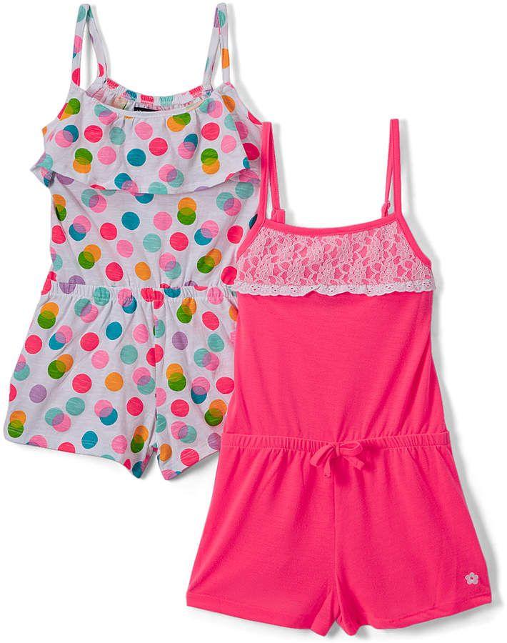 c5503caa6 Pink   White Dot Romper Set - Infant  babygirl
