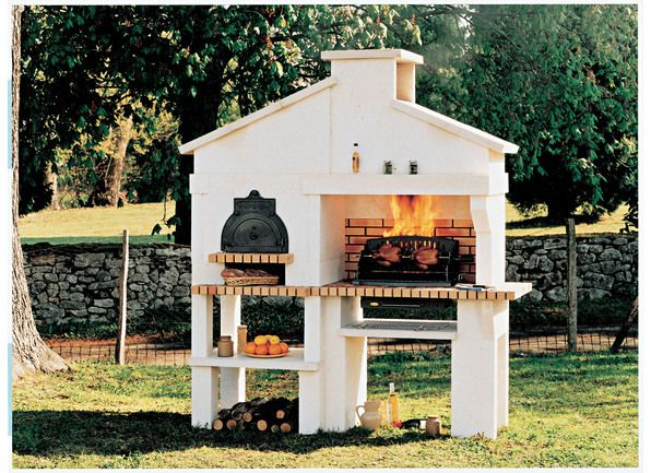 Oltre 1000 idee su barbecue en pierre su pinterest for Barbecue exterieur en pierre leroy merlin