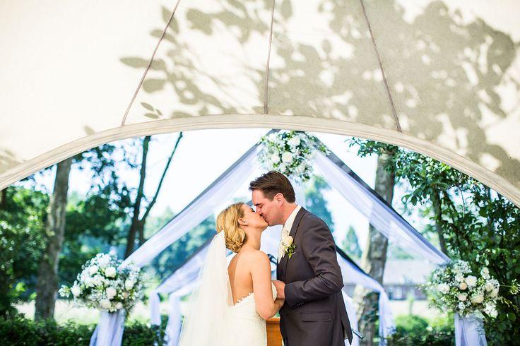 Buiten trouwen bij Kasteel Maurick door Dario Endara Wedding Photography