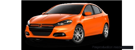 2013 Dodge Dart Rallye in Header Orange!