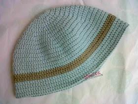 Pattern: Crochet Kopiah (in Malay, I think :))