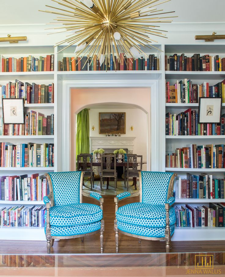 Bookcases Around Doorway