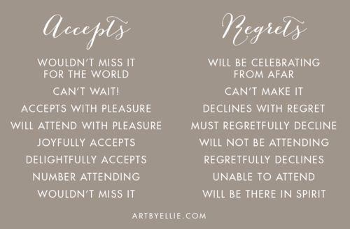 Responding To A Wedding Invitation: Best 25+ Wedding Invitation Wording Ideas On Pinterest
