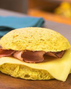 Low Carb Sandwich aus der Mikrowelle