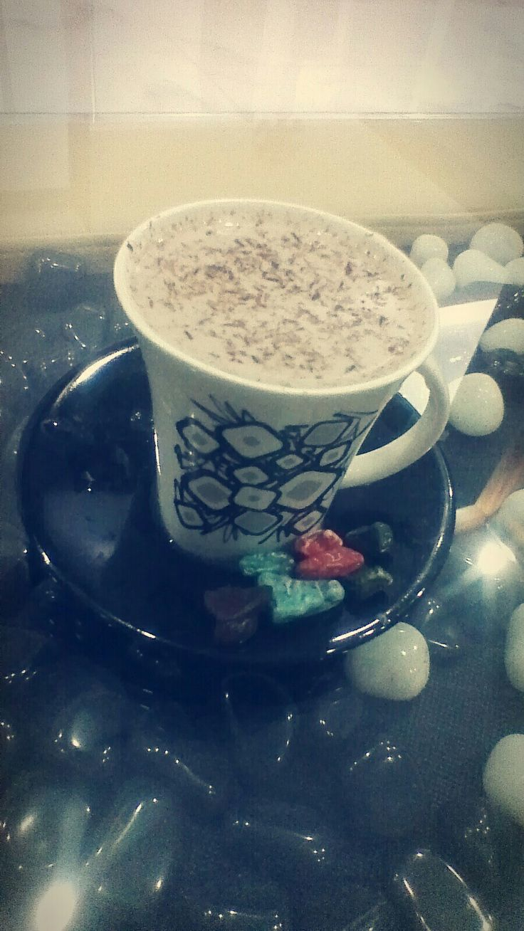 My First Try In Making A Hot Chocolate...
