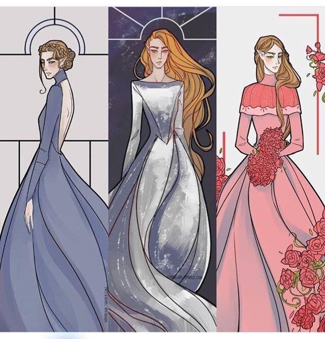 Nesta , Feyre And Elain