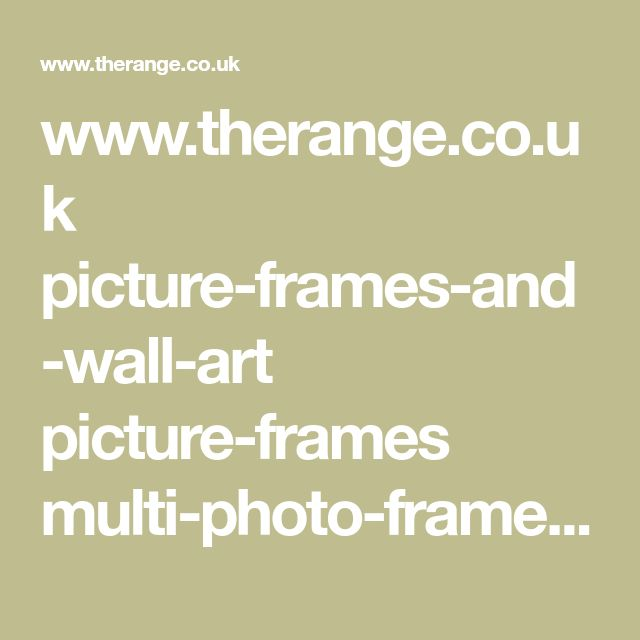 www.therange.co.uk picture-frames-and-wall-art picture-frames multi-photo-frames grey-and-white-ornate-9-multi-aperture-frame