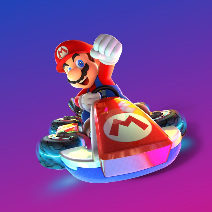 Mario - Mario Kart 8 Deluxe