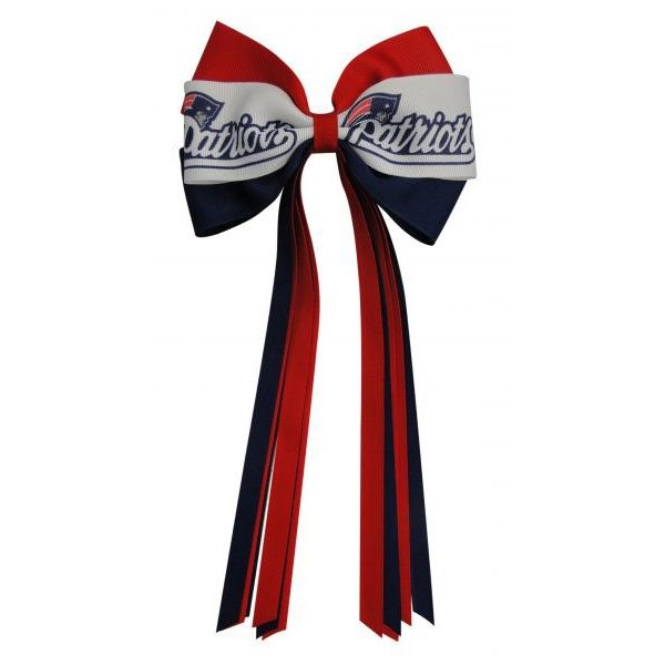 Patriots Streamer Bow For The Top Of My Tree My