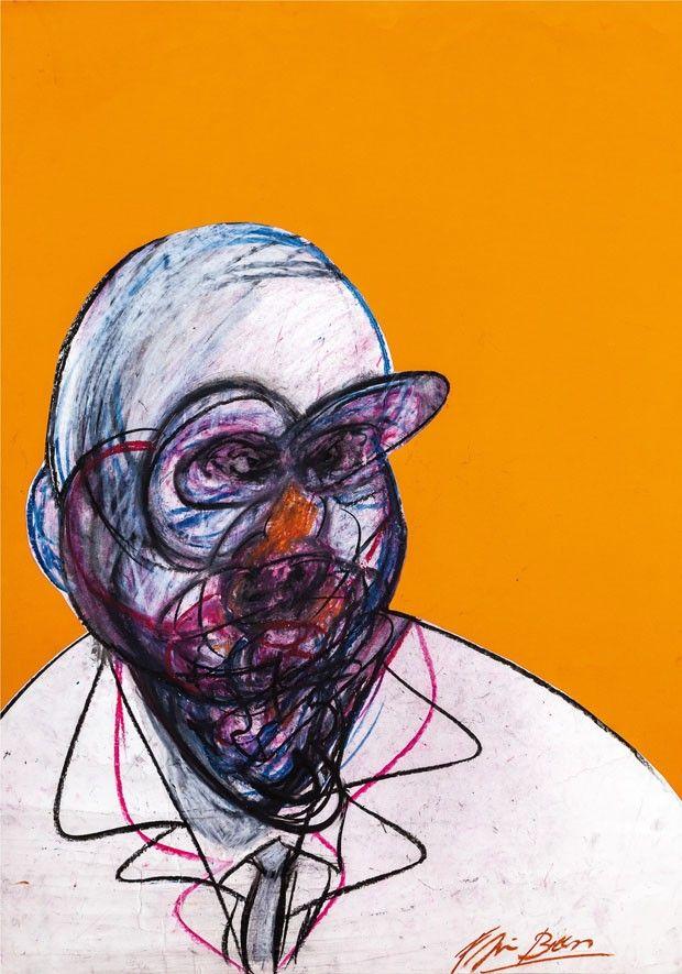 Francis Bacon, pastel