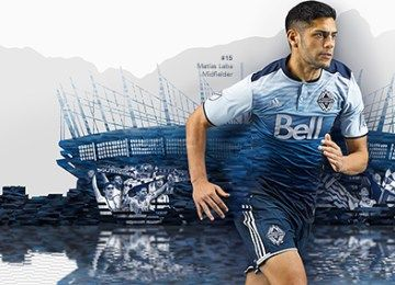 "Vancouver Whitecaps FC 2016 ""Sea to Sky"" adidas Away Jersey"