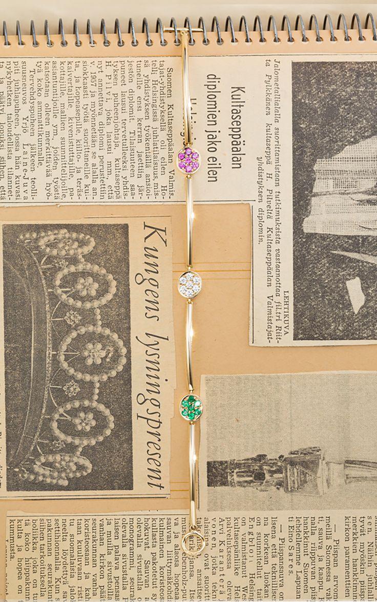 A Gemstone Bracelet