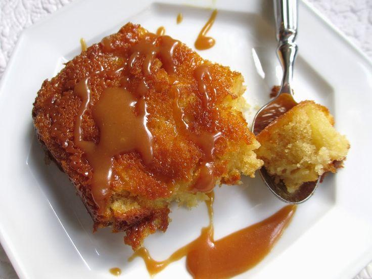 mouelleux aux pommes et caramel au beurre salé