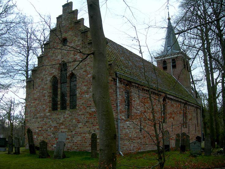 Kerkje van Olterterp Friesland The Netherlands