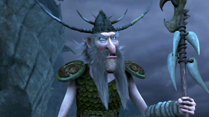 "Mildew voiced by Stephen Root. First appeared in the 2012 series ""Dreamworks Dragons: Riders of Berk."""