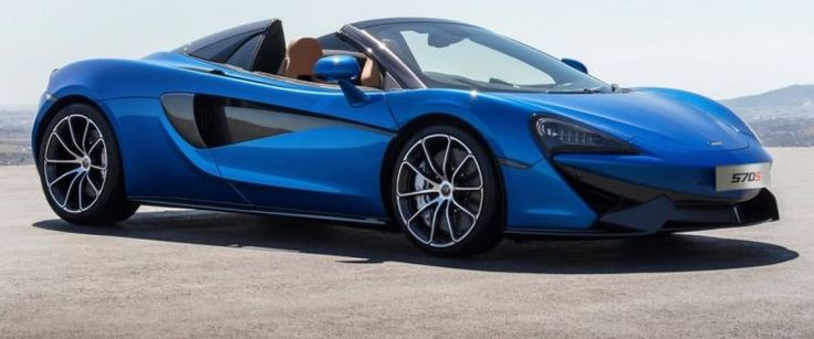 McLaren 570S Spider with same performance as coupe