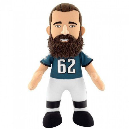 NFL Philadelphia Eagles Jason Kelce 10 inch Plush Figure.., Multicolor