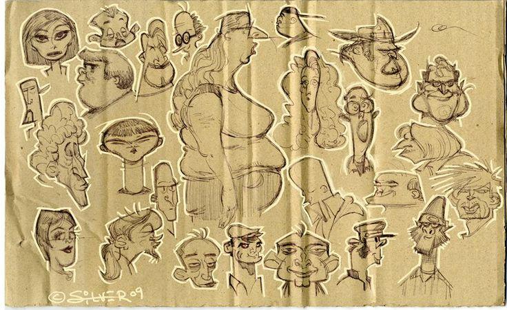 Character Design Stephen Silver Download : Best stephen silver character design images on