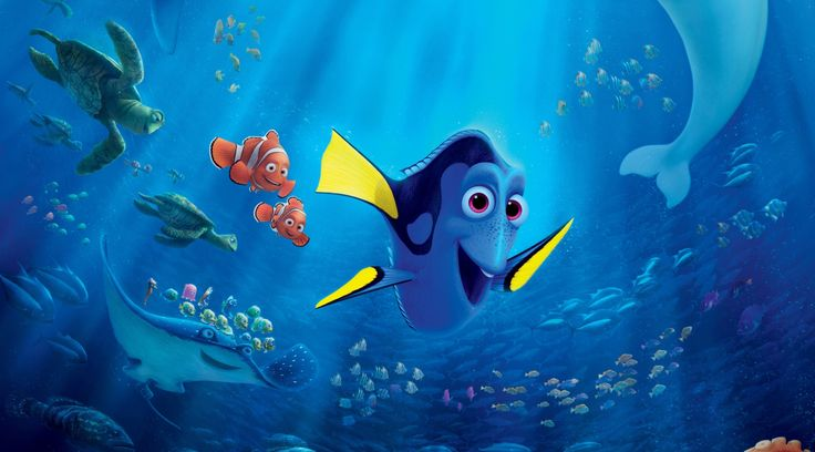 Finding Dory Wallpaper, Movies: Finding Dory, nemo, fish, Pixar