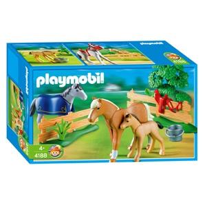 PLAYMOBIL Paardenfamilie 4188