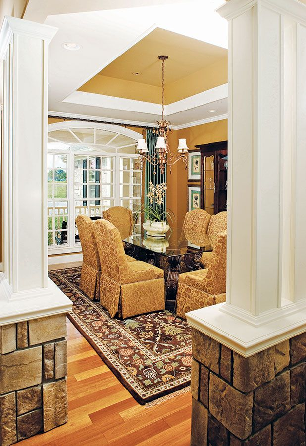 Formal Dining Room From The Edgewater Plan 1009