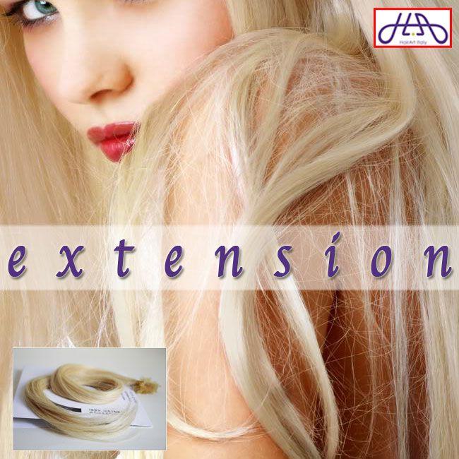 Parliamo di EXTENSION, di colore e stile fashion: con il biondo PLATINO 613 puoi creare un effetto a contrasto oppure puoi infoltire la tua chioma in poco tempo. Capelli veri e facili da applicare! Acquistale su http://bit.ly/extension-HA o sullo store Amazon http://bit.ly/extension-AMAZON: con una spesa superiore ai 55 € usa il codice HAI10OFF e ti regaliamo subito 10 €! #capelli #hairartitaly