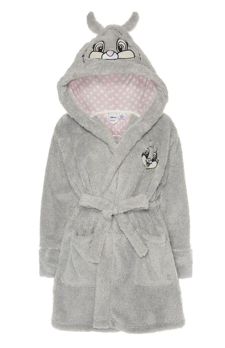 Primark - Grey Disney Thumper Hooded Robe