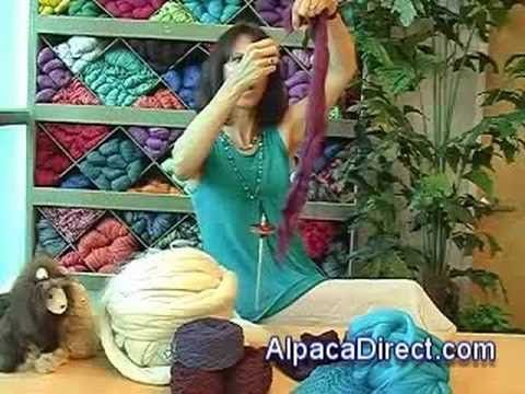 What is roving? What does carding mean?  How do you spin yarn using a drop spindle?  Learn the answers in this wonderful video!