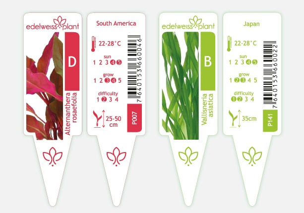 labels for edelweiss