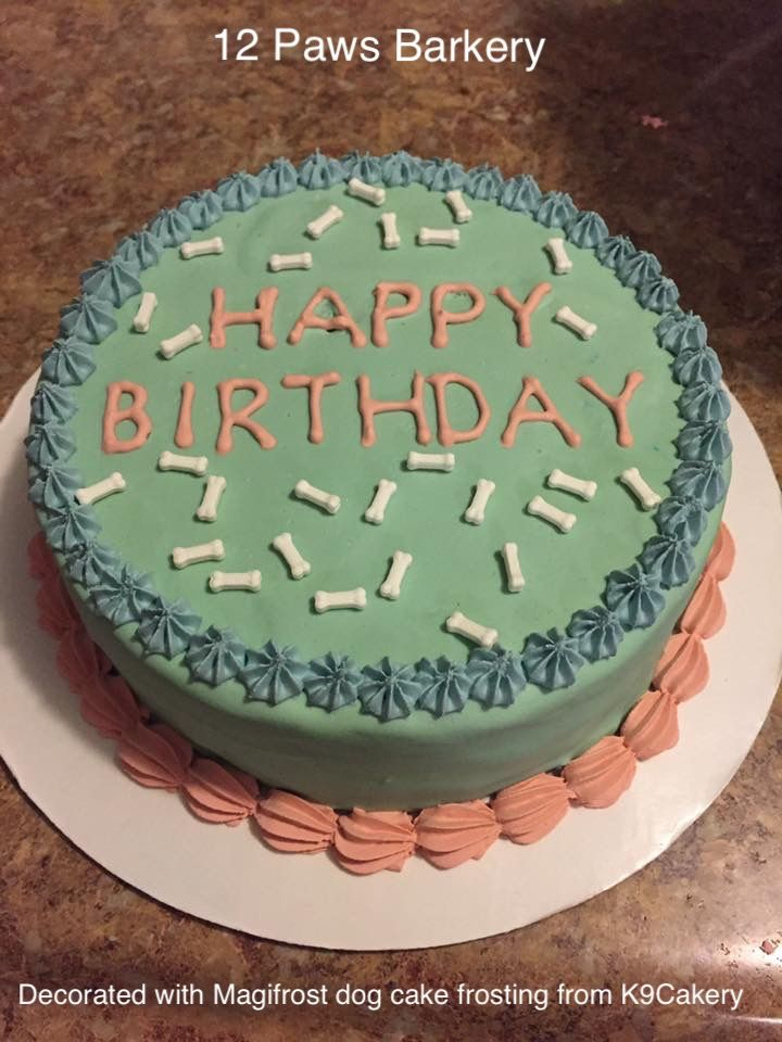 10 Best Dog Birthday Cake Images On Pinterest Dog Birthday Cakes