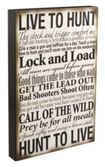 """Live to Hunt"" Box Art 