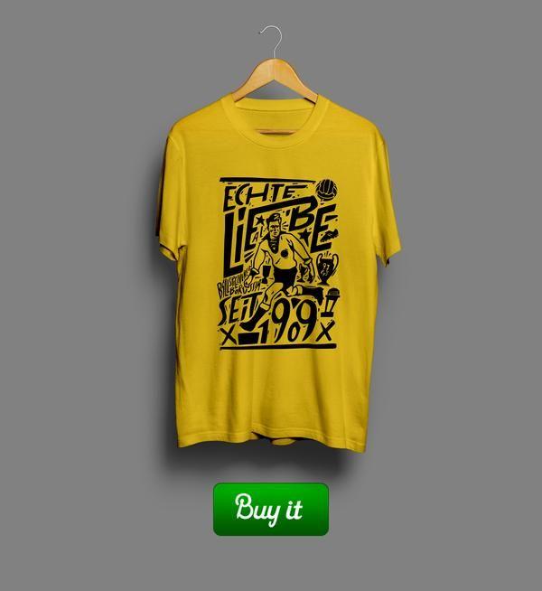 Borussia Seit 1909   #Боруссия #Дортмунд #BV #Borussia #Dortmund #Die #Schwarzgelben #Football #Club  #tshirt #футболки #футбол #logo