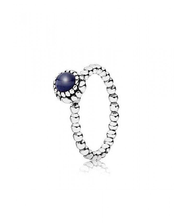 PANDORA Birthstone Lapis Lazuli September Silver Ring Sale Classic style, using a very good workmanship technology, very perfect.
