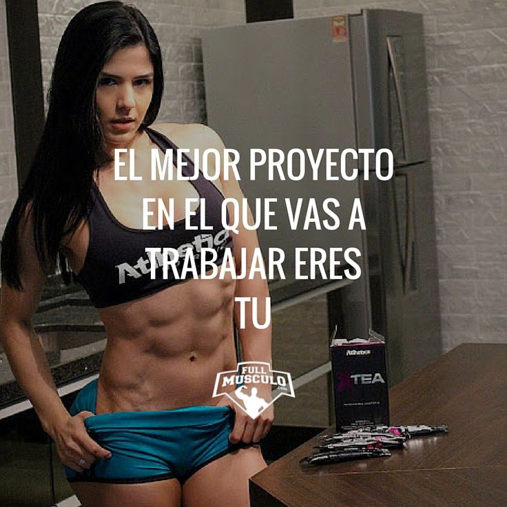 Tu cuerpo es tu mejor proyecto así que dedícale las horas necesarias #motivation #fitness