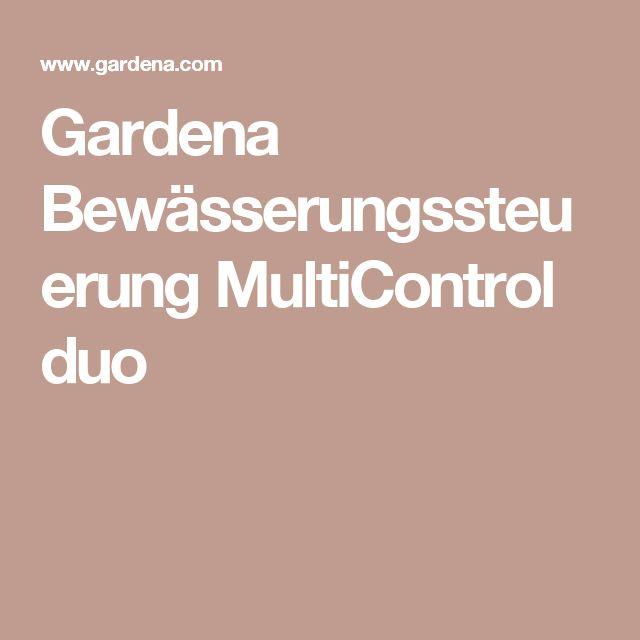 Cool Gardena Bew sserungssteuerung MultiControl duo