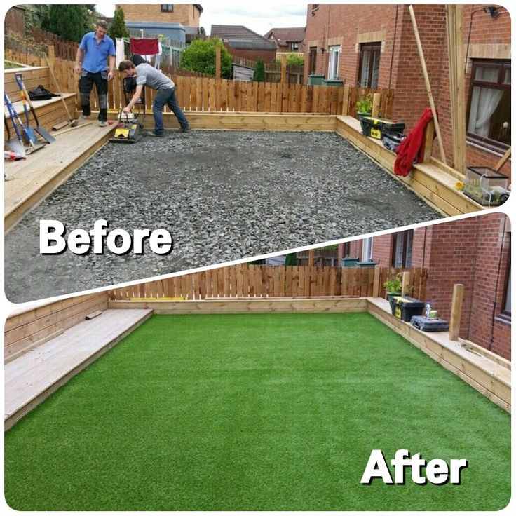 Before And After Artificialturfscotland Artificial