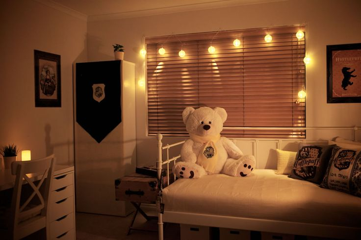 17 best images about hufflepuff bedroom on pinterest for Bedroom ideas harry potter