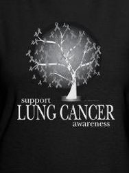 Lung Cancer Awareness Tree